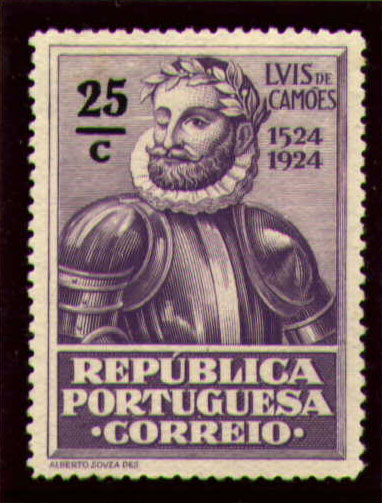 Portugal 1924 400th Birth Anniversary of Camões k.jpg