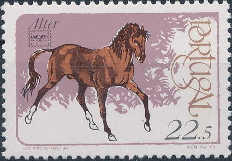 Portugal 1986 Portuguese Breeding Horses