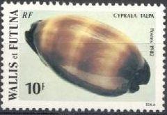 Wallis and Futuna 1982 Sea shells