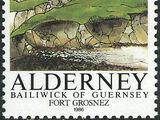 Alderney 1986 Alderney Forts