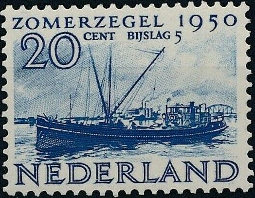 Netherlands 1950 Surtax for Social and Cultural Works f.jpg