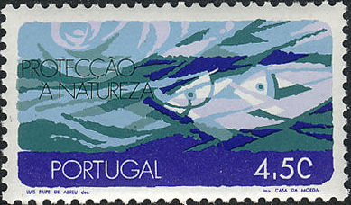 Portugal 1971 Protection of Nature Errd.jpg