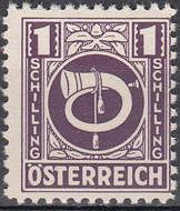 Austria 1945 Posthorn o.jpg