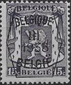 Belgium 1938 Coat of Arms - Precancel (3rd Group)