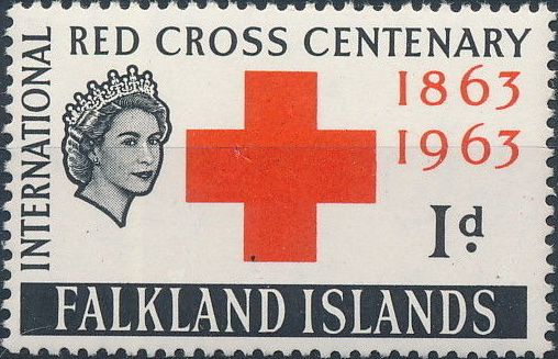 Falkland Islands 1963 100th Anniversary of Red Cross