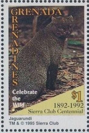 Grenada Grenadines 1995 100th Anniversary of Sierra Club - Endangered Species n.jpg