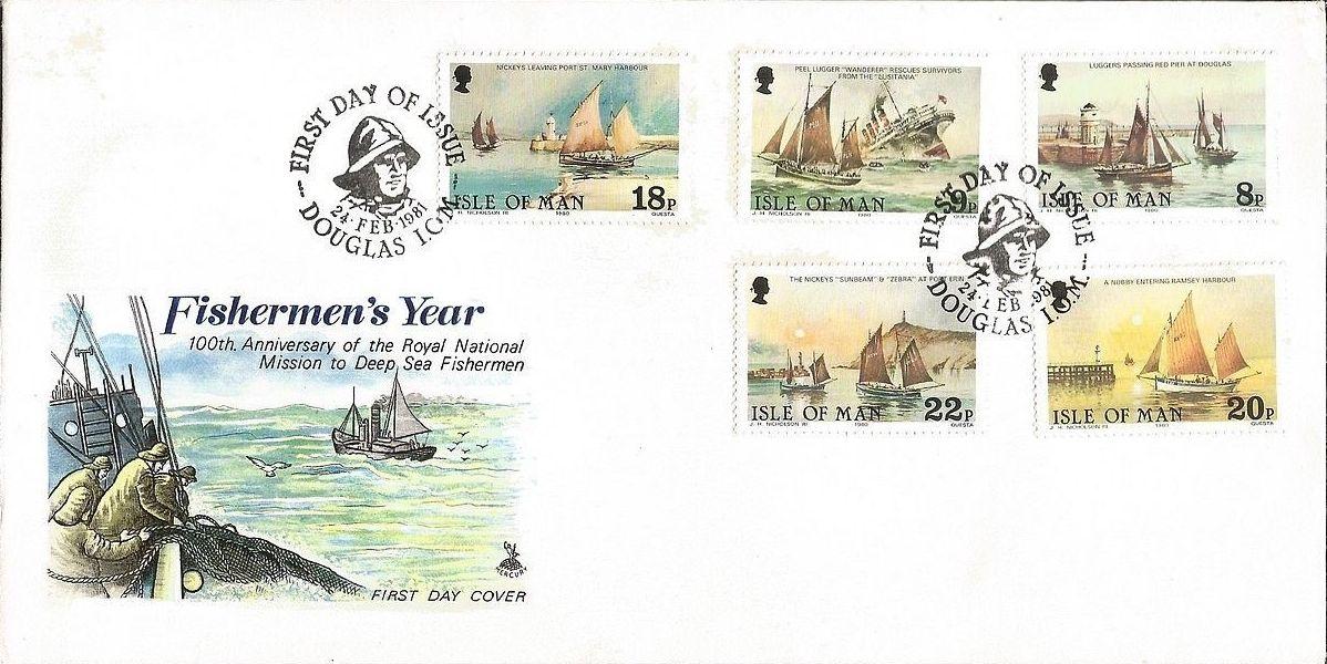 Isle of Man 1981 Fishermen's Year