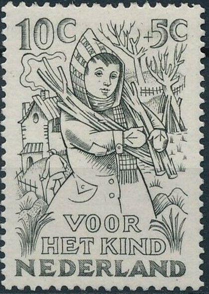 Netherlands 1949 Surtax for Child Welfare d.jpg