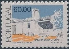 Portugal 1987 Portuguese Popular Architecture (3rd Group) c.jpg
