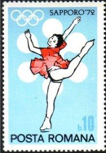 Romania 1971 Olympic Games Sapporo' 72