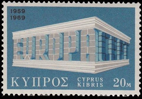 Cyprus 1969 EUROPA - CEPT