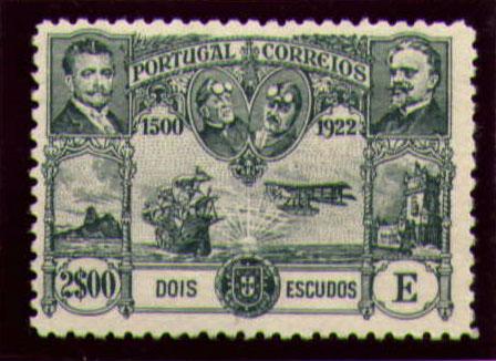 Portugal 1923 First flight Lisbon Brazil p.jpg