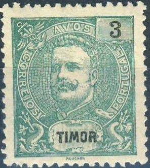 Timor 1903 D. Carlos I - New Values and Colors