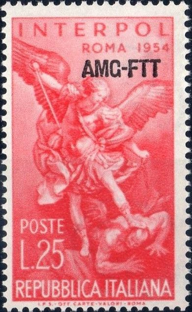 Trieste-Zone A 1954 23rd General Assembly of the International Criminal Police a.jpg