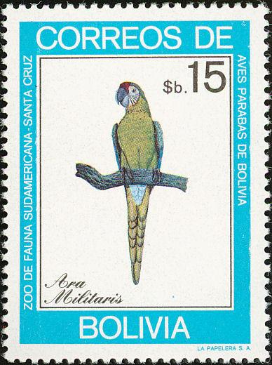Bolivia 1981 Macaws g.jpg