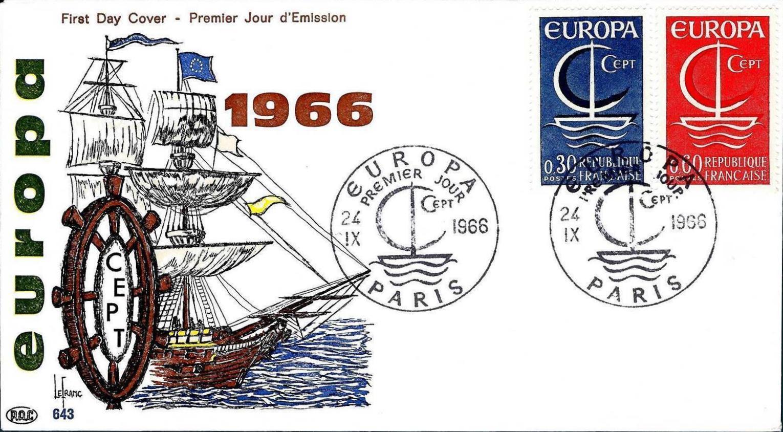 France 1966 EUROPA FDCb.jpg