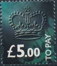 Great Britain 1994 Postage Due Stamps i.jpg