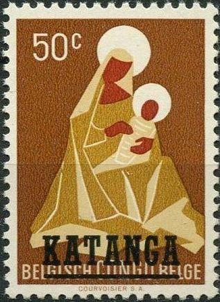 Katanga 1960 Christmas