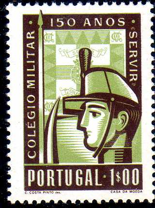 Portugal 1954 150th Anniversary of Military College
