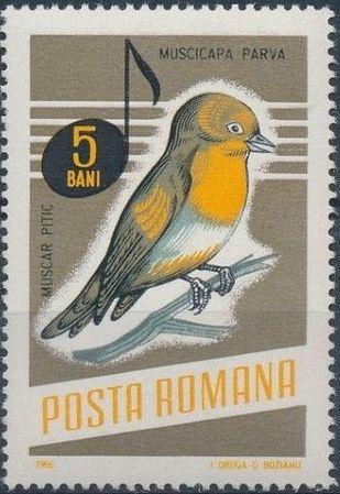 Romania 1966 Song Birds