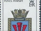 Gibraltar 1987 Royal Navy Crests 6th Group
