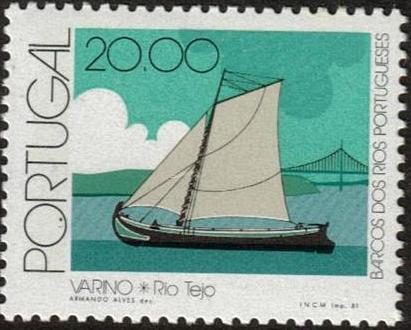 Portugal 1981 Portuguese River Boats f.jpg