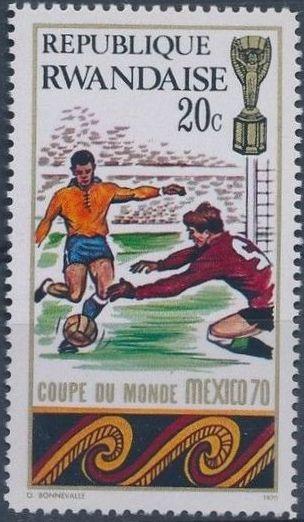 Rwanda 1970 Football World Cup - Mexico