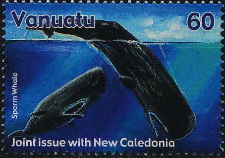 Vanuatu 2001 Whales - Joint Issue with New Caledonia a.jpg