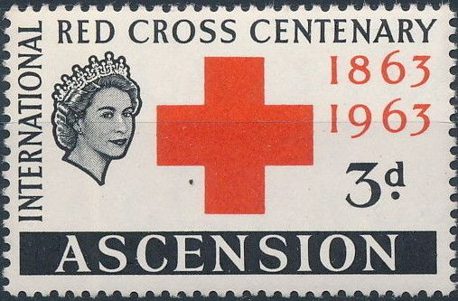 Ascension 1963 Red Cross Centenary