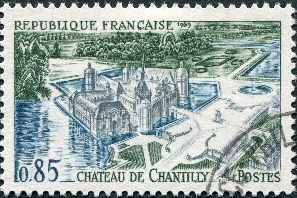 France 1969 Tourism - Chantilly Castle