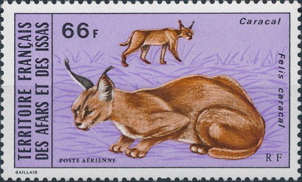 French Territory of the Afars and the Issas 1973 Wildlife c.jpg