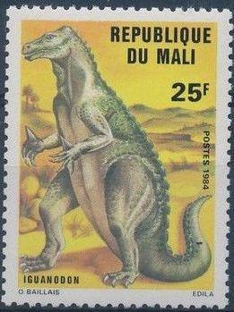 Mali 1984 Prehistoric Animals b.jpg