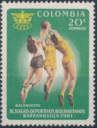 Colombia 1961 4th Bolivarian Games