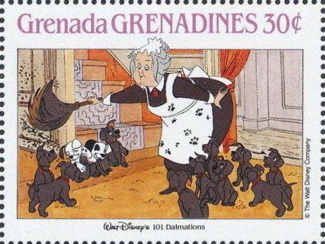 Grenada Grenadines 1988 The Disney Animal Stories in Postage Stamps 3i.jpg