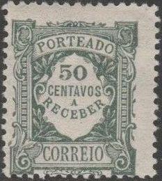 Portugal 1922 Postage Due Stamps (Unicolor) l.jpg