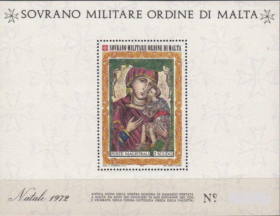 Sovereign Military Order of Malta 1972 Christmas g.jpg