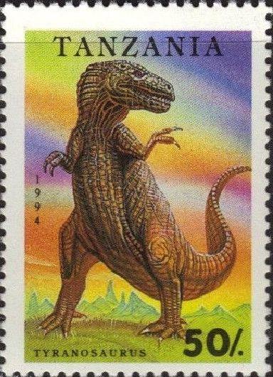 Tanzania 1994 Prehistoric Animals b.jpg