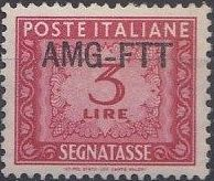 Trieste-Zone A 1954 Postage Due Stamps of Italy 1947-1954 Overprinted a.jpg