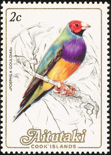 Aitutaki 1984 Local Birds (1st Group)