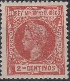 Elobey, Annobon and Corisco 1903 King Alfonso XIII d.jpg