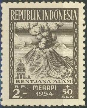 Indonesia 1954 Surtax for Victims of the Merapi Volcano Eruption f.jpg