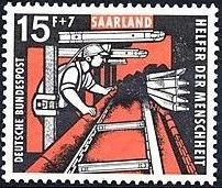 Saar 1957 For Welfare Organizations (Coal Mining) c.jpg