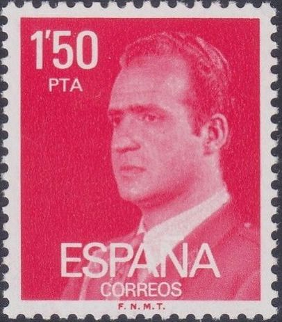 Spain 1976 King Juan Carlos I - 1st Group