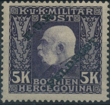 Austro-Hungarian Post Offices 1915 Emperor Franz Josef Overprinted t.jpg