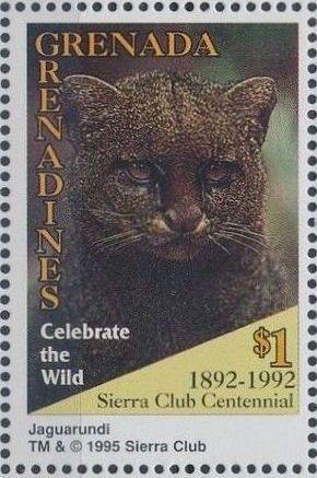 Grenada Grenadines 1995 100th Anniversary of Sierra Club - Endangered Species m.jpg