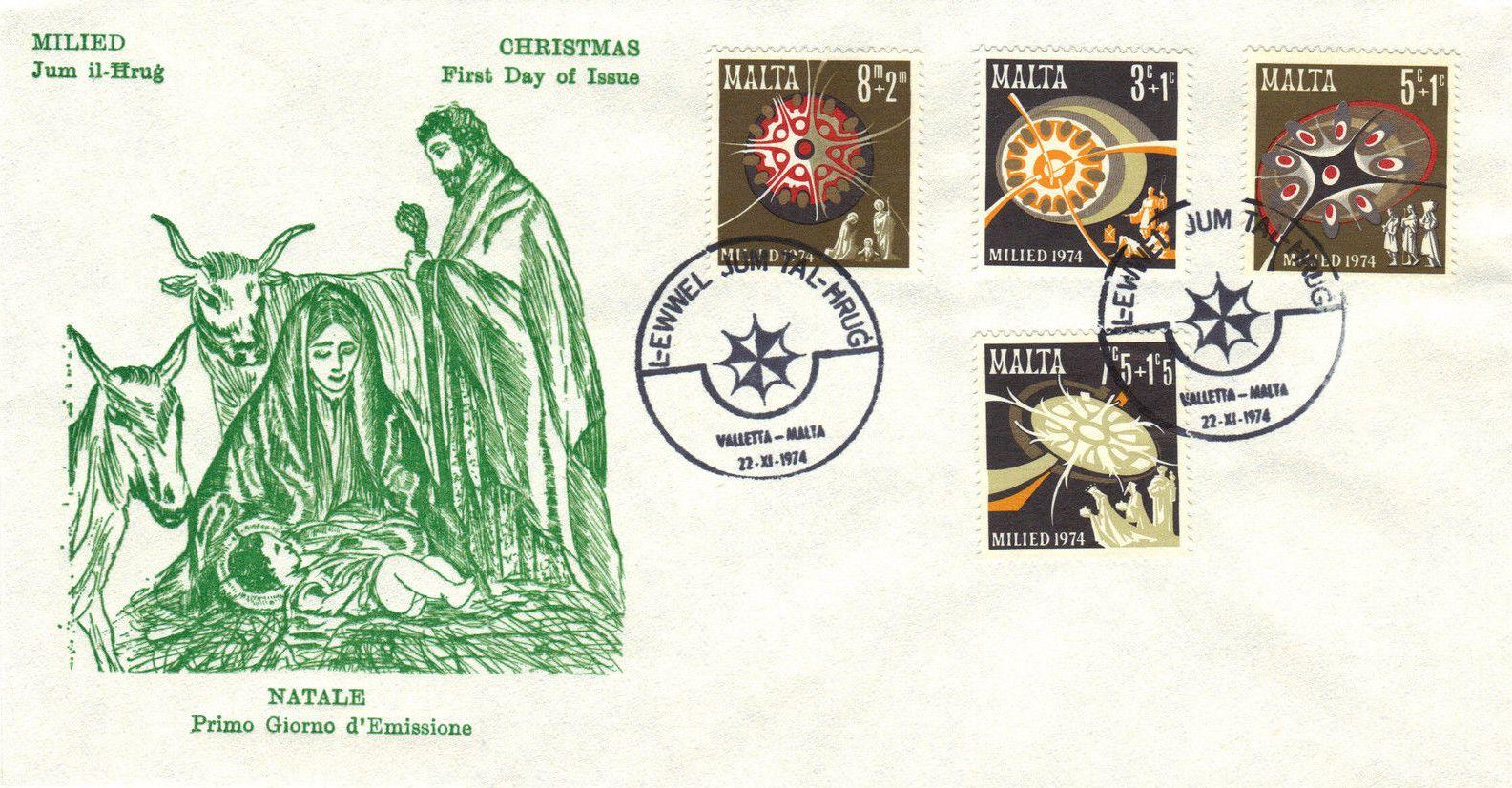 Malta 1974 Christmas