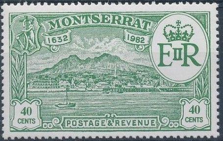 Montserrat 1982 350th Anniversary of Settlement of Montserrat by Sir Thomas Warner