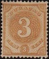 Netherlands Antilles 1891 Numbers