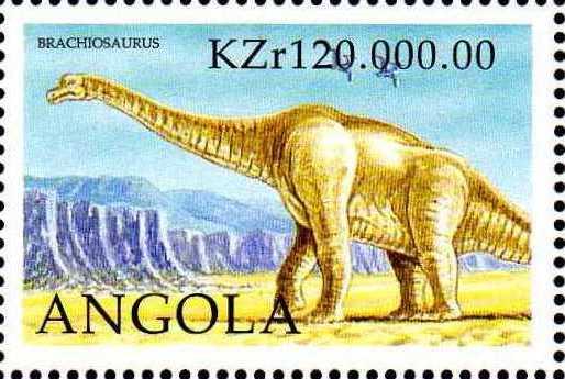Angola 1998 Prehistoric Animals (3rd Group) d.jpg