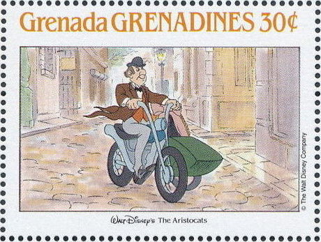 Grenada Grenadines 1988 The Disney Animal Stories in Postage Stamps 6d.jpg